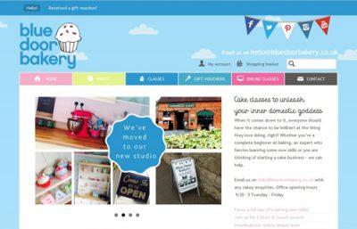 Link to Blue Door Bakery website