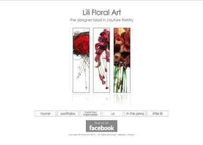 Link to Lili Floral Art website